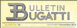 Bulletin Novembre 2012
